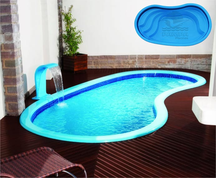 Piscinas e lazer foz do igua u piscinas fibra for Modelos piscinas prefabricadas